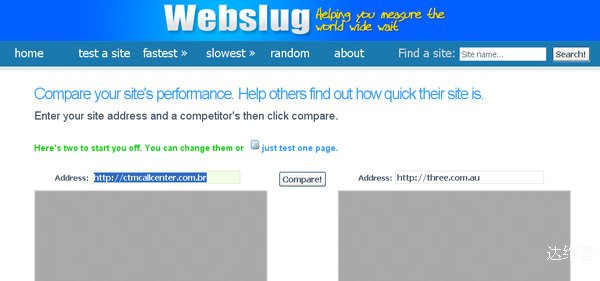 webslug 18 Website Speed and Performance Checking Tools