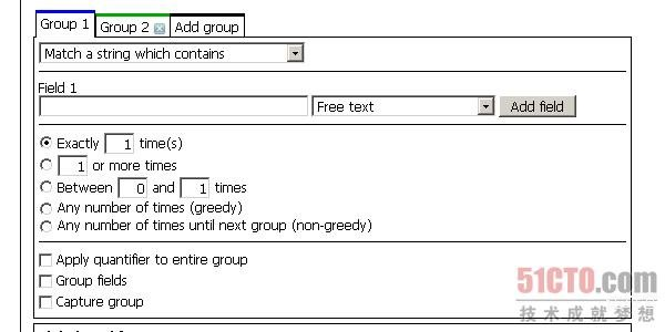 Regular expression generator